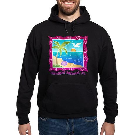 Sanibel-Island-Colors Hoodie (dark)
