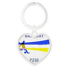 Uruguay copy Heart Keychain