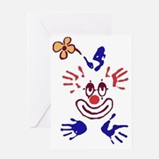 clown01 Greeting Card