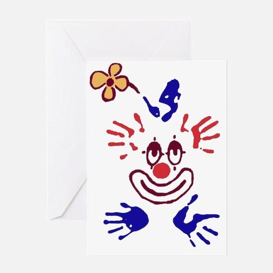 clown01 Greeting Card