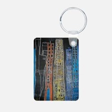 ChelseaJaq67RiveraScape Aluminum Photo Keychain