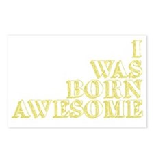 born awesome2 Postcards (Package of 8)
