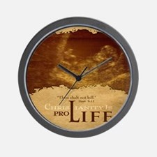 Mousepad_ProLife-Christianity Wall Clock