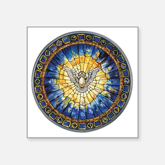 "3-HolySprit_Trans_PNG Square Sticker 3"" x 3"""