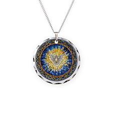 3-HolySprit_Trans_PNG Necklace Circle Charm