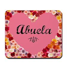 Abuela valentine card Mousepad