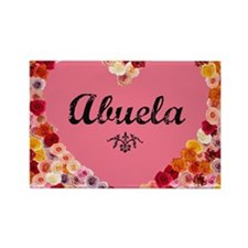 Abuela valentine card Rectangle Magnet