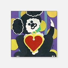 """ruff puppy 2 Square Sticker 3"""" x 3"""""""