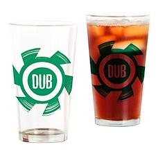 Dub_Green Drinking Glass