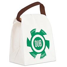 Dub_Green Canvas Lunch Bag