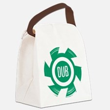 Dub_Green Canvas Lunch Bag
