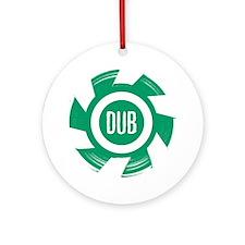 Dub_Green Round Ornament