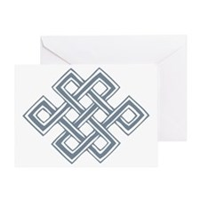 Endless_Knot_Slate Greeting Card