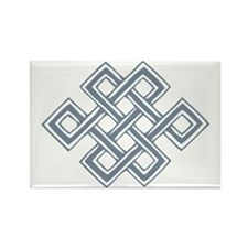 Endless_Knot_Slate Rectangle Magnet