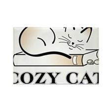 cozycatlogowithoutbackground (2) Rectangle Magnet