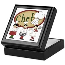 Three Chefs Keepsake Box