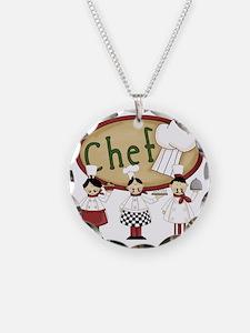 Three Chefs Necklace