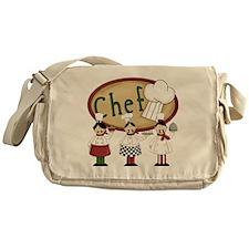 Three Chefs Messenger Bag