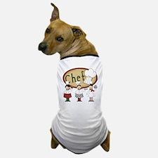 Three Chefs Dog T-Shirt