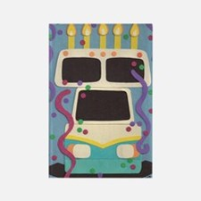 dads birthday rv Rectangle Magnet