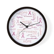 ImaSurvivorSticker Wall Clock