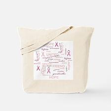 ImaSurvivorSticker Tote Bag