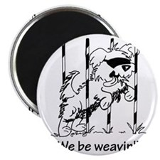 We be weavin!! Magnet