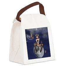 Queenie tile coaster template Canvas Lunch Bag
