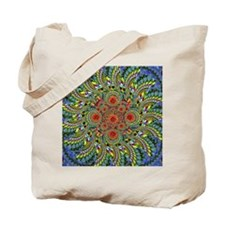 Spiral Fruits Tote Bag