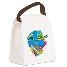 First Communion Day Canvas Lunch Bag