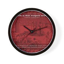 Mousepad_Martyrdom_Askew Wall Clock