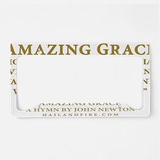 Emblem_Newton-AmazingGrace License Plate Holder