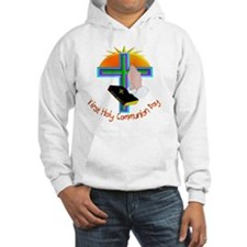 First Holy Com Day Hoodie