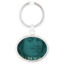 Magnet_Head_Bunyan Oval Keychain