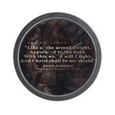 Mousepad_Quote_Askewe Wall Clock