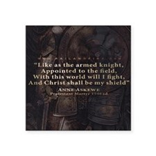 """Mousepad_Quote_Askewe Square Sticker 3"""" x 3"""""""