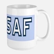 USAF-First-SMSgt-Old-BSticker Large Mug