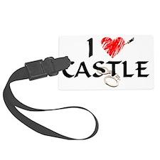 castle1lt Large Luggage Tag