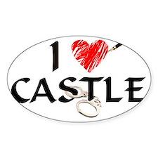 castle1lt Sticker (Oval)