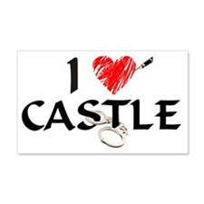 castle1lt 20x12 Wall Decal