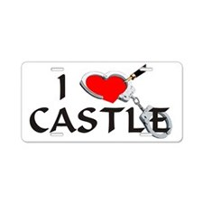 castle2lt Aluminum License Plate