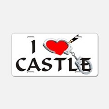 castle2lt Aluminum License Plate