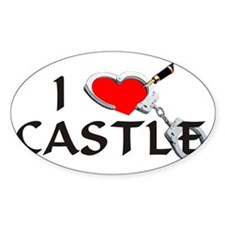castle2lt Sticker (Oval)