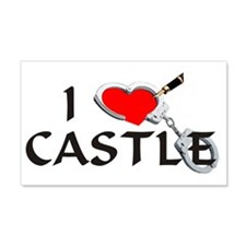 castle2lt 20x12 Wall Decal