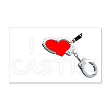 castle2dk Rectangle Car Magnet