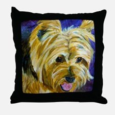 terrier-misu Throw Pillow