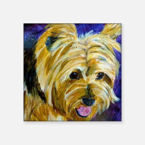 "terrier-misu Square Sticker 3"" x 3"""