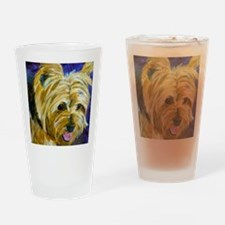 terrier-misu Drinking Glass