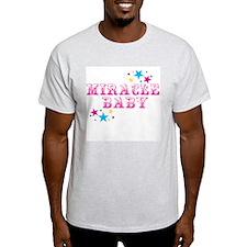 miracle baby Ash Grey T-Shirt