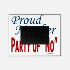 Party of No text template 041710 Picture Frame